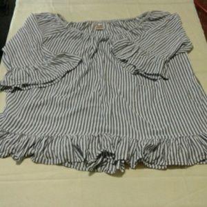 Terra & Sky WOMEN'S mid sleeve shirt size 2XL